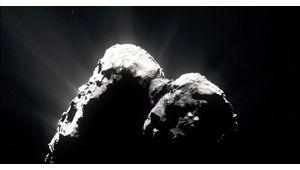 100 000 photos prises par la sonde Rosetta à la base d'une incroyable vidéo sur la comète 67P