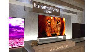Vidéo – Le téléviseur Oled enroulable LG et le modèle 8K Oled