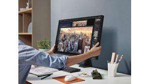 Lecteurs-Testeurs Samsung Space Monitor : les avis sur le design et l'ergonomie
