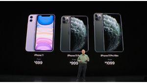 iPhone 11 Pro et 11 Pro Max : Apple recolle à la concurrence