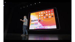 Apple annonce son nouvel iPad 10,2