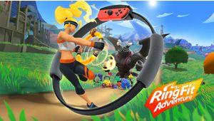 Le fitness est bien de retour chez Nintendo avec Ring Fit Adventure pour Switch