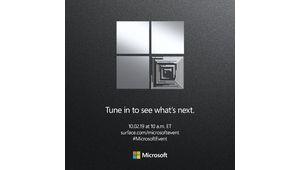 Microsoft présentera ses nouvelles Surface le 2 octobre