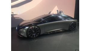 Mercedes Vision EQS : une Classe S électrique toujours plus luxueuse