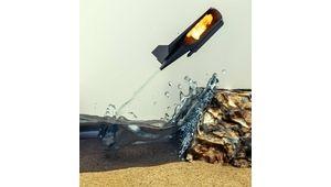AquaMav, un drone aquatique capable de bondir hors de l'eau grâce à une explosion