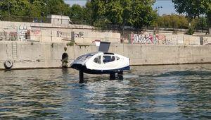 SeaBubbles : retour des taxis-volants sur la Seine pour des tests