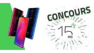 Les 15 ans des Numériques – Gagnez un Xiaomi Mi 9T Pro !