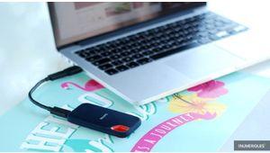 Bon plan – Le SanDisk Extreme Portable SSD de 1 To à 146,19 €