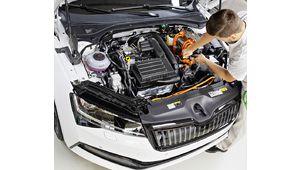 Škoda Superb iV, l'hybride rechargeable entre en production