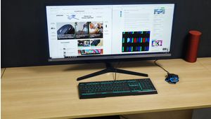 Le moniteur panoramique Samsung S34J550WQU à moins de 350 €