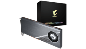 Aorus confirme sa carte d'extension SSD 8 To dopée au PCIe 4.0