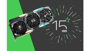 Les 15 ans des Numériques – Gagnez une carte graphique MSI GeForce RTX 2080 Gaming X Trio