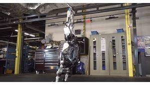 Robot Atlas (Boston Dynamics) : une impressionnante démonstration de gymnastique