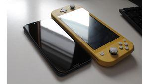 Labo – L'écran de la Switch Lite, reflet de celui de la Switch classique