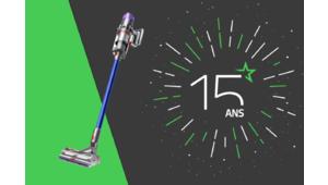 Les 15 ans des Numériques – Gagnez un aspirateur-balai Dyson V11 Absolute !
