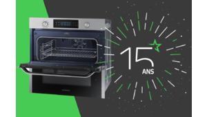 Les 15 ans des Numériques – Gagnez un four Samsung Dual Cook Flex !