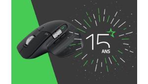 Les 15 ans des Numériques – Gagnez une souris Logitech MX Master 3