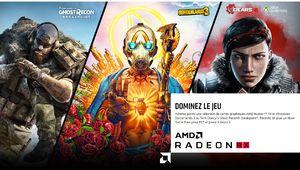 AMD Radeon et Ryzen : de nouvelles offres bundles