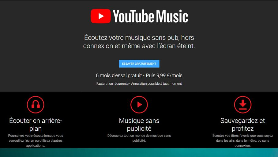 Youtube Music Remplacera Par Defaut Google Play Music Sur