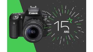 Les 15 ans des Numériques – Gagnez un reflex Canon EOS 90D !