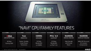 AMD voudrait revenir sur le marché du portable gaming avec les RX 5500M et 5300M