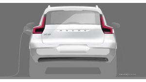 XC40 électrique : Volvo prépare la version branchée de son SUV compact