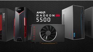 AMD Radeon RX 5500 (M) : la génération Navi part à l'assaut du marché des GPU d'entrée de gamme