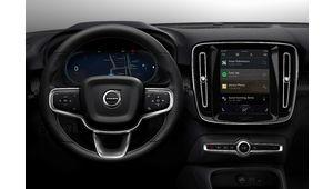 Le Volvo XC40 électrique utilisera Android Automotive comme système multimédia