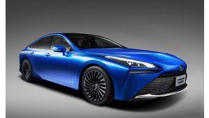 Toyota Mirai Concept : la voiture à hydrogène fait peau neuve