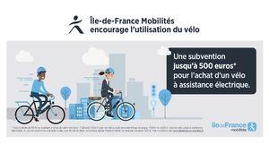 Vélo électrique : la prime à l'achat de 500 € en Île-de-France arrivera début 2020