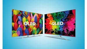 Samsung explique comment repérer le marquage sur un téléviseur Oled