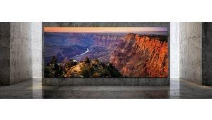 Samsung The Wall : une première installation de l'écran géant aux États-Unis