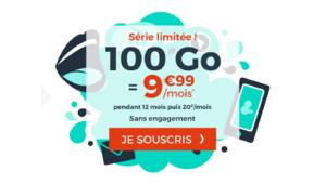 Bon plan – Cdiscount propose son forfait 100 Go à 9,99 €/mois pendant un an