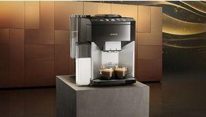 Cafetière auto avec broyeur Siemens iQ500 : un premier café prêt en 40 secondes