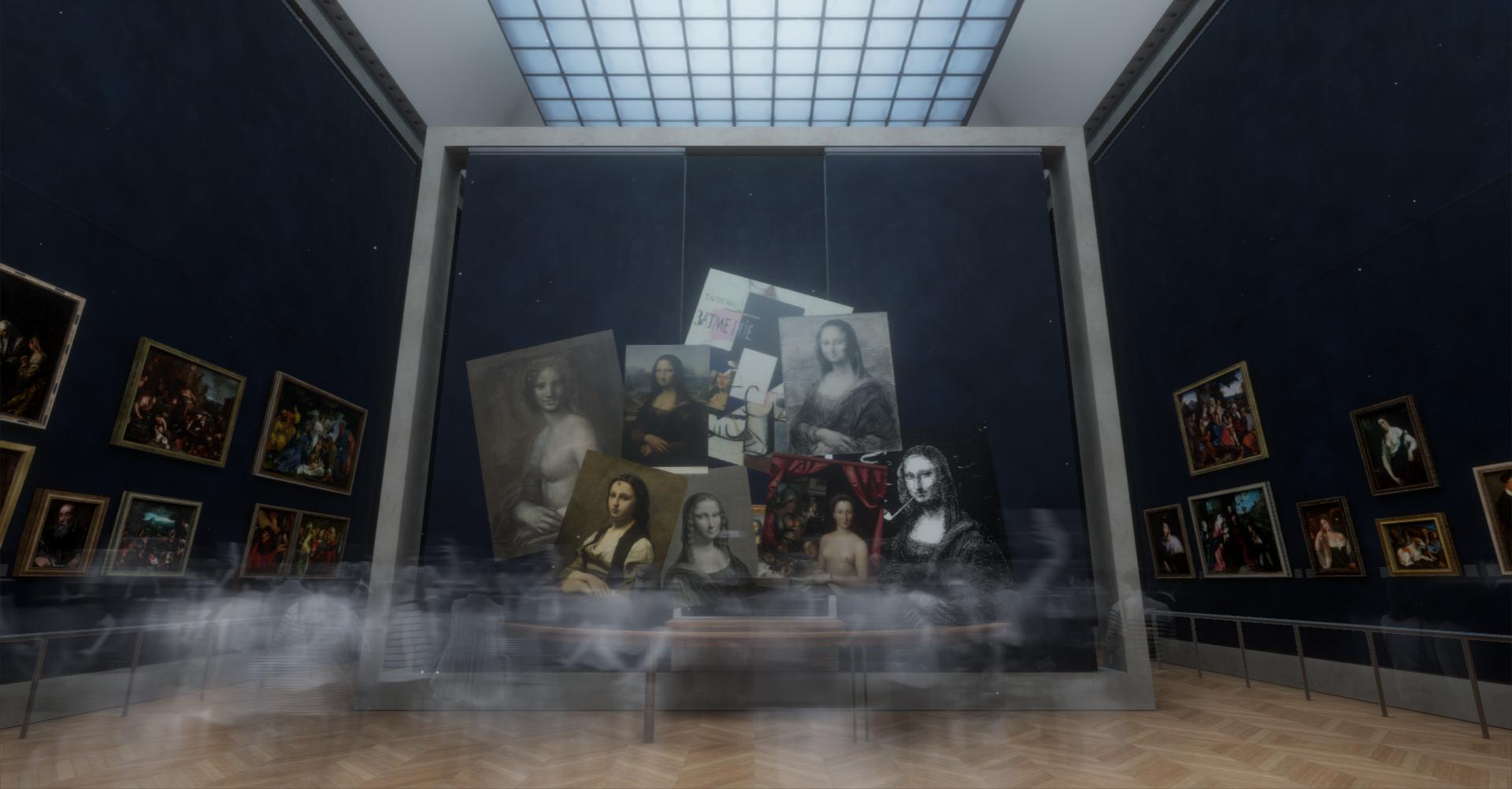 Actualité : La Joconde s'expose en réalité virtuelle au musée du Louvre
