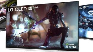 Certains téléviseurs LG Oled de 2019 seront compatibles avec G-Sync