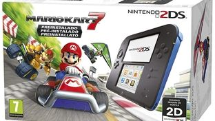 Bon plan – Console portable Nintendo 2DS avec 5 jeux à 132 €