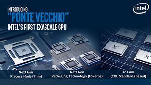 Intel : le GPU Ponte Vecchio pour les HPC avant une déclinaison grand public