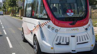 Navya intègre deux navettes autonomes déservant le stade de l'Olympique lyonnais