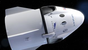 Vidéos SpaceX : un ralenti de la propulsion d'urgence de Crew Dragon et un prototype de Starship endommagé