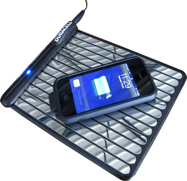 duracell mygrid la recharge des mobiles sans c ble par conduction. Black Bedroom Furniture Sets. Home Design Ideas