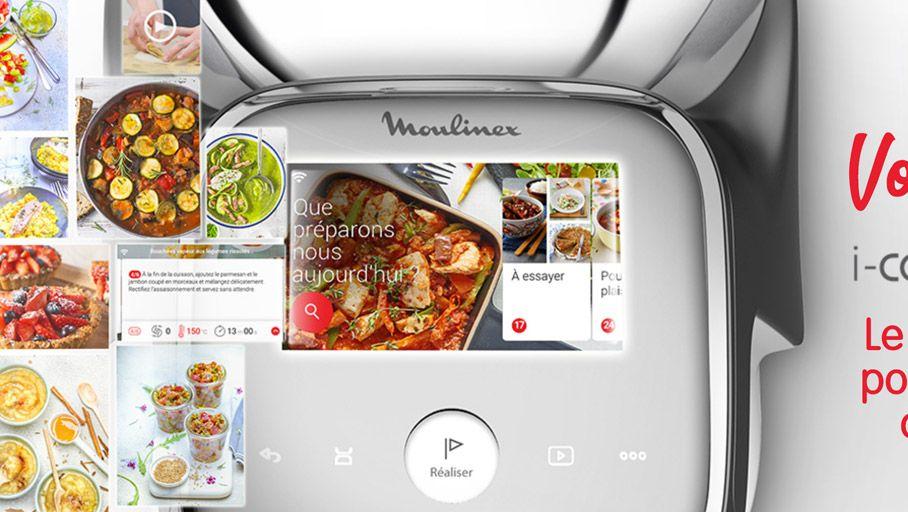 I Companion Touch Xl Enfin Un Ecran Tactile Sur Le Robot Cuiseur