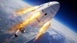 SpaceX : test d'éjection d'urgence réussi pour le Crew Dragon et vol habité en ligne de mire