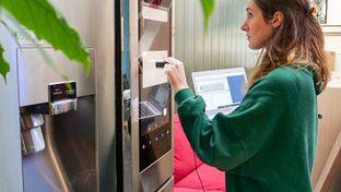 Labo — ce que vaut l'écran du réfrigérateur connecté Samsung Family Hub