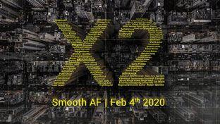 Le Poco X2 et son écran smooth AF présentés le 4 février prochain