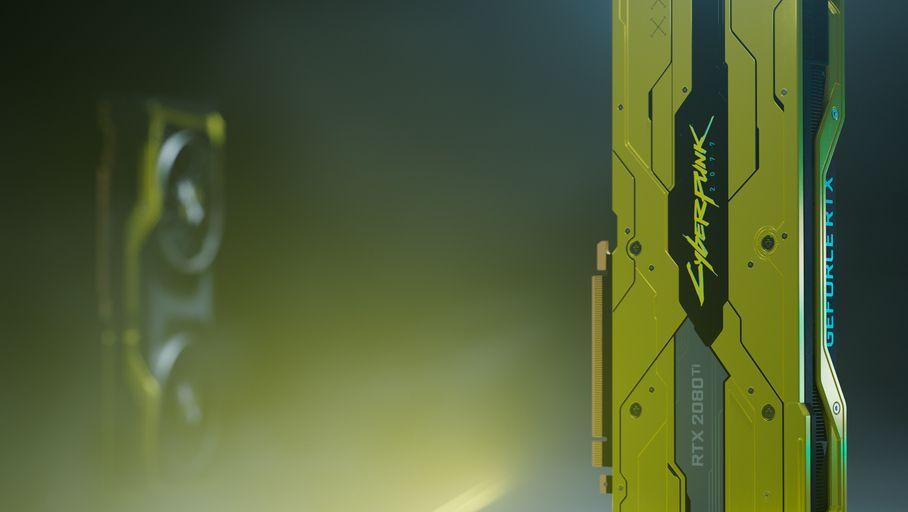 Nvidia lance une carte graphique RTX 2080 Ti aux couleurs de Cyberpunk 2077