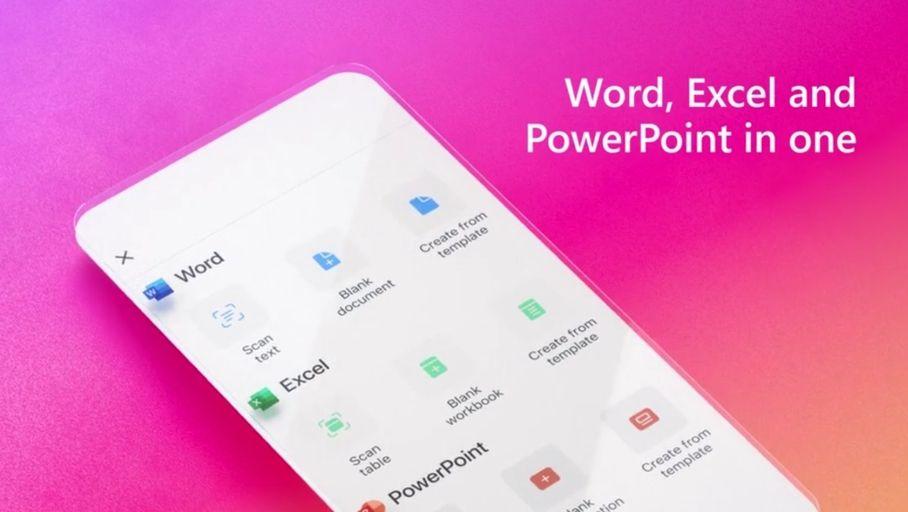 L'application Microsoft Office unifiée disponible sur Android et iOS, bientôt la dictée sur Word