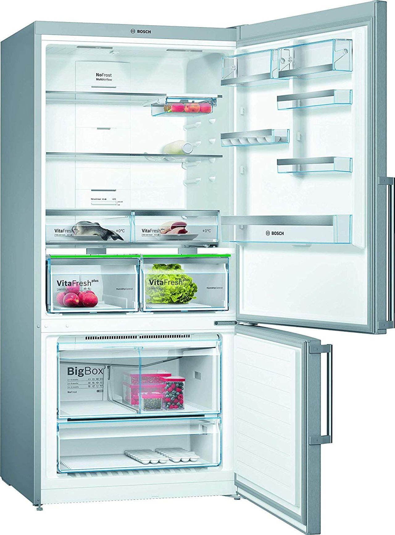 Bosch Kgn86ai4p Un Refrigerateur Combine Original Dans Les Grandes Largeurs Les Numeriques