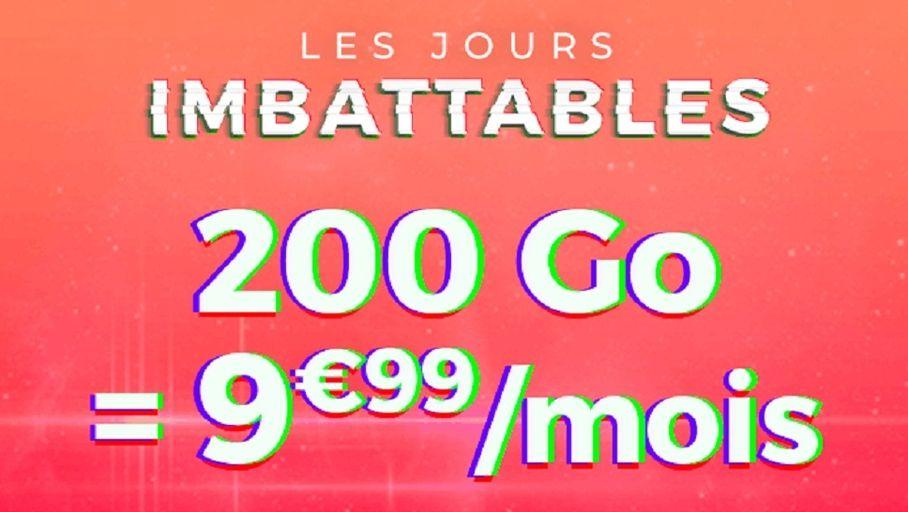 Actualité : Bon plan – Forfait Cdiscount Mobile 200 Go à 9,99 €/mois pendant un an