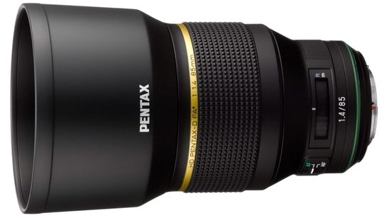 Pentax officialise le développement de son FA★ 85mm f/1.4 SDM AW